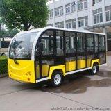 廠家直銷14座全封閉式電動觀光車JZT14-M 電動旅遊車電動看房車