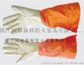 消防阻燃服装供应、镇江润林扑火服装  隔热扑火手套