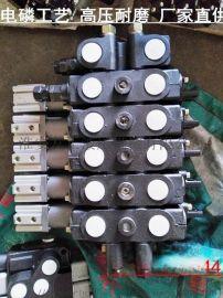 气控多路换向阀QZL15-H-4OT.O3T垃圾压缩车分配器