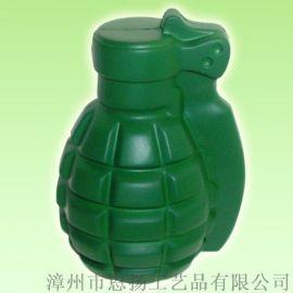 弹 pu发泡压力球玩具 可印logo