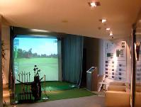 室内  速高尔夫模拟器