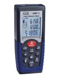 手持式激光测距仪,70米红外线测距仪(面积、体积)测量仪LDM70