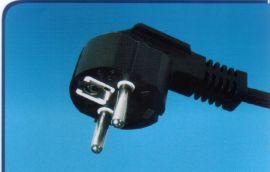 三蕊AC插头线、电源插头线德国VDE认证(Y003)