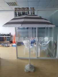 专业定制海滩遮阳伞、户外广告沙滩伞、广告太阳伞制作