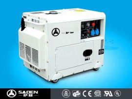6KW千瓦超静音柴油发电机广告车别墅酒店用全自动发电机