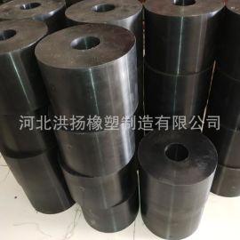 圆柱型橡胶支撑块 圆形减震橡胶支座