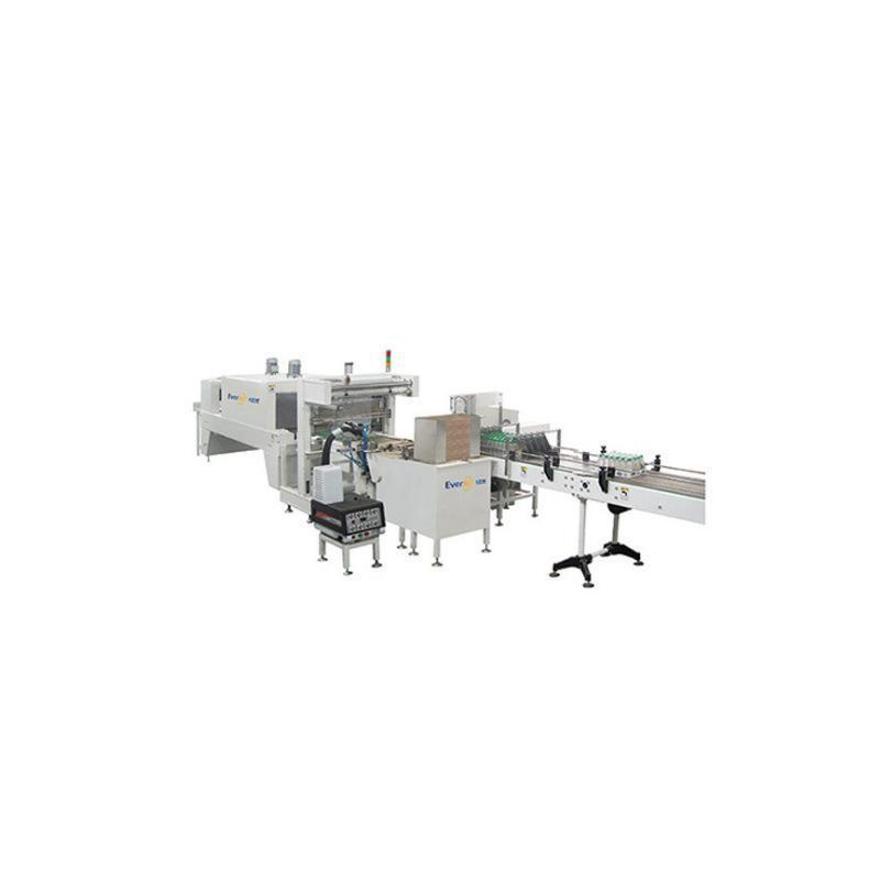 厂家直销半托膜包机  自动半托热收缩包装机 纸托膜包机 半托塑包