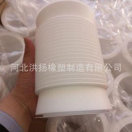 聚四氟乙烯软接头 四氟软连接 玻璃管道用四氟软接头