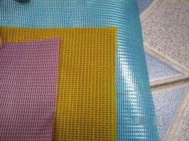 文件袋、手袋、防水膜用PVC夹网布200D×300D