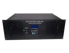 供应3KW多功能机架式|DC24V/3000W带市电充电互补逆变器
