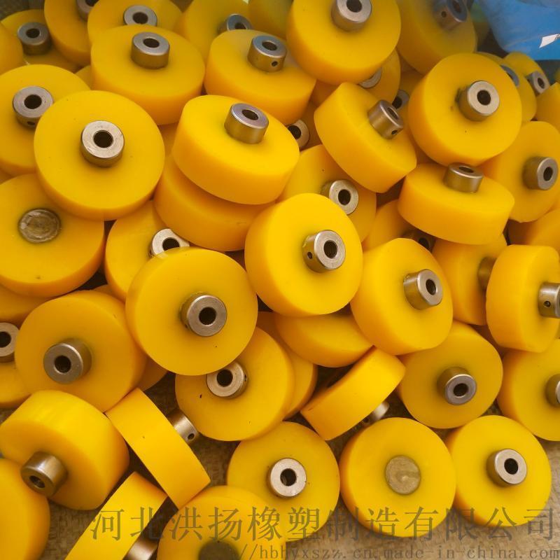 生產供應 口罩機拉線輪 口罩機包膠輪定製