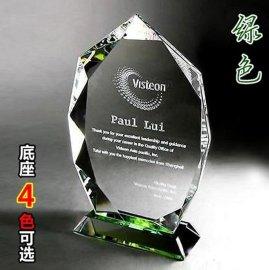 水晶奖牌 西安水晶加工厂 水晶奖牌价格