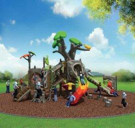 幼儿园组合滑梯 树形滑梯 工程塑料滑梯