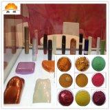 上海珠光粉供应商 珍珠白金 珠光粉 幻彩 化妆品用塑料用珠光颜料
