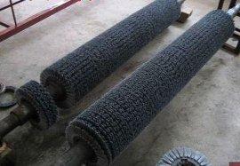 万里达供应磨料丝抛光研磨刷辊 磨料丝刷辊  磨料丝毛刷辊