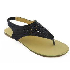 D0215夏季镂空镶钻大码凉鞋欧  式凉鞋