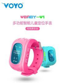 VOYO Vbaby-V1儿童智能定位手表 GPS定位追踪器 儿童学生防丢手环 双向通话 GPS定位 一键求救