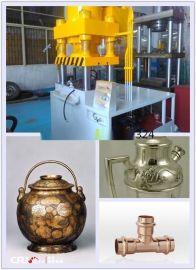 思豪1000T金属内高压形成型机,液压机,不锈钢管件膨胀成形机