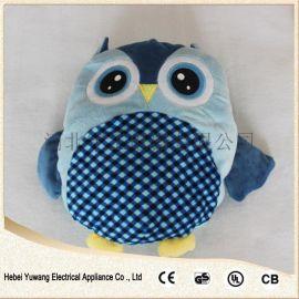 新款电热水袋充电暖宝 暖水袋电热宝 毛绒插手暖宝宝新乐厂家批发