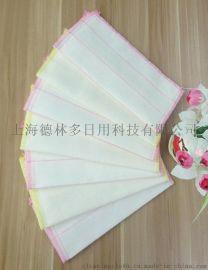 5层28x28夹棉 棉柔加厚加密木纤维抹布厂家批发直销多用抹布