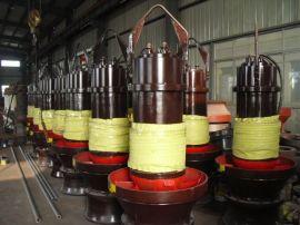 电站给排水用的潜水轴流泵/500QZB-100轴流潜水泵/高性能大型排污泵