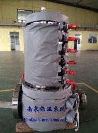 熔体过滤器可快拆防烫节能套过滤器隔热保温罩