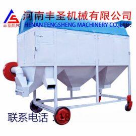 丰圣供应FSL-50型移动式圆筒清理筛,移动式滚筒清理筛