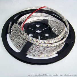 厂家直销LED灯带 3528贴片灯条 防水12V灯条 KTV酒吧灯带 高亮