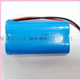 深圳电池厂家供应太阳能灯18650磷酸铁锂电池3.2V3000mAh电池组灯具锂电池