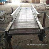 不锈钢材质链板输送机 水平运料链板输送机78
