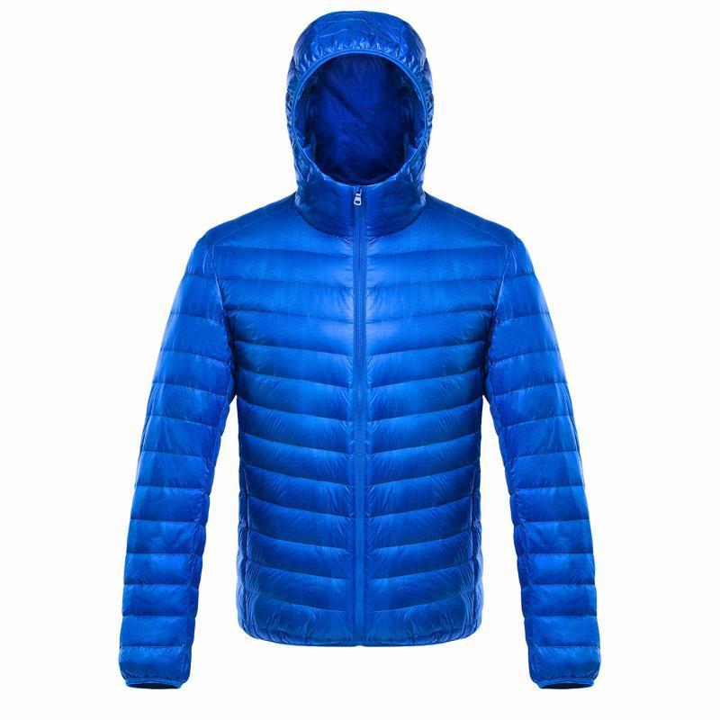羽絨服冬季韓版白鴨絨連帽青年外套保暖定做印字