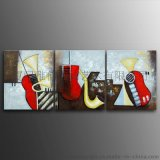雅佳G50-57系列纯手绘抽象无框组合油画家居/办公/玄关/酒店/宾馆装饰画壁画