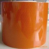 高强级反光膜 橙色反光带 油罐车危险品车身反光贴
