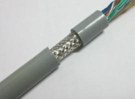 4芯0.2平方双层**高柔性TRVVP拖链电缆,800万次以上, 耐磨耐折