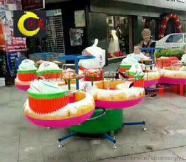 河北国龙新款双转旋转甜甜圈厂家视频