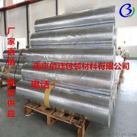 南京佰珏包装供应铝膜编织布 出口铝膜包装pe编织布复铝膜铝箔编制复合膜工业铝箔纸
