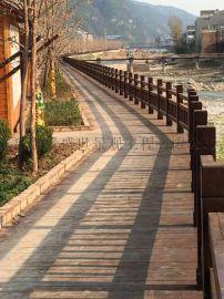 城阳户外木地板 防腐木阳台地板 庭院木质地板木栈道木质楼台