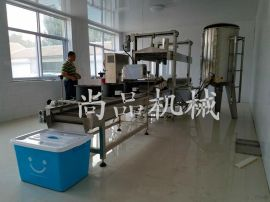 全自动脆饼油炸机 尚品机械脆饼油炸机生产线