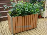 室外防腐木花箱花槽户外木质长方形大号种植箱定制厂家