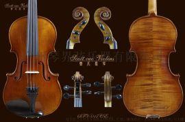 曹氏提琴全手工小提琴欧料初学者儿童成人乐器仿古小提琴017CE