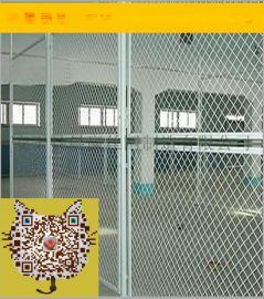 **车间隔离网  框架护栏网 绿色护栏网