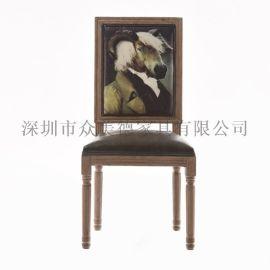 软包餐椅,快餐餐桌椅,个性餐椅定做厂家众美德
