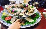 海鲜盘 装菜超大盘 80公分1米陶瓷大盘现货