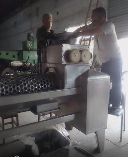 不锈钢火龙果去皮破碎机,3t/h各种水果去皮破碎机