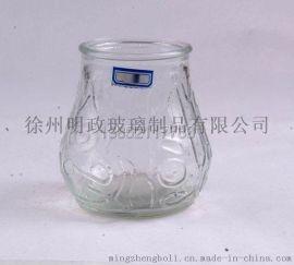 明政玻璃 专业生产各种 玻璃烛台