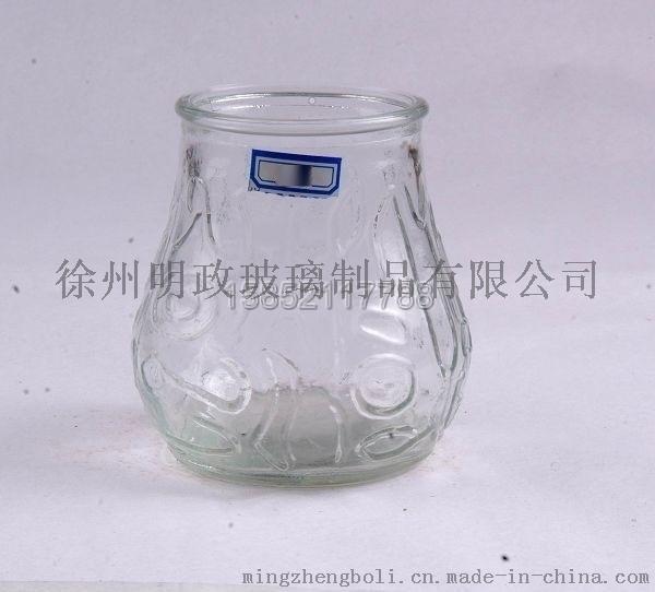 明政玻璃 專業生產各種 玻璃燭臺