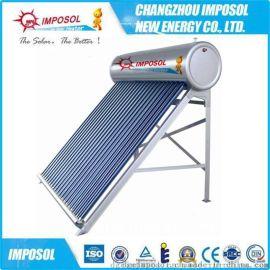 厂家直销一体非承压智能控制电加热真空管太阳能热水器SRCC认证