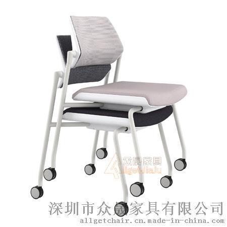 培训椅 学生阅览学习会议四脚椅批发厂家