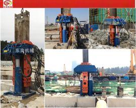 型钢桩液压拔桩机-静力压拔桩机械价格