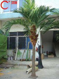 东莞仿真椰子树 玻璃钢椰子树 人造假椰子树 酒瓶椰子树 园林景观椰子树